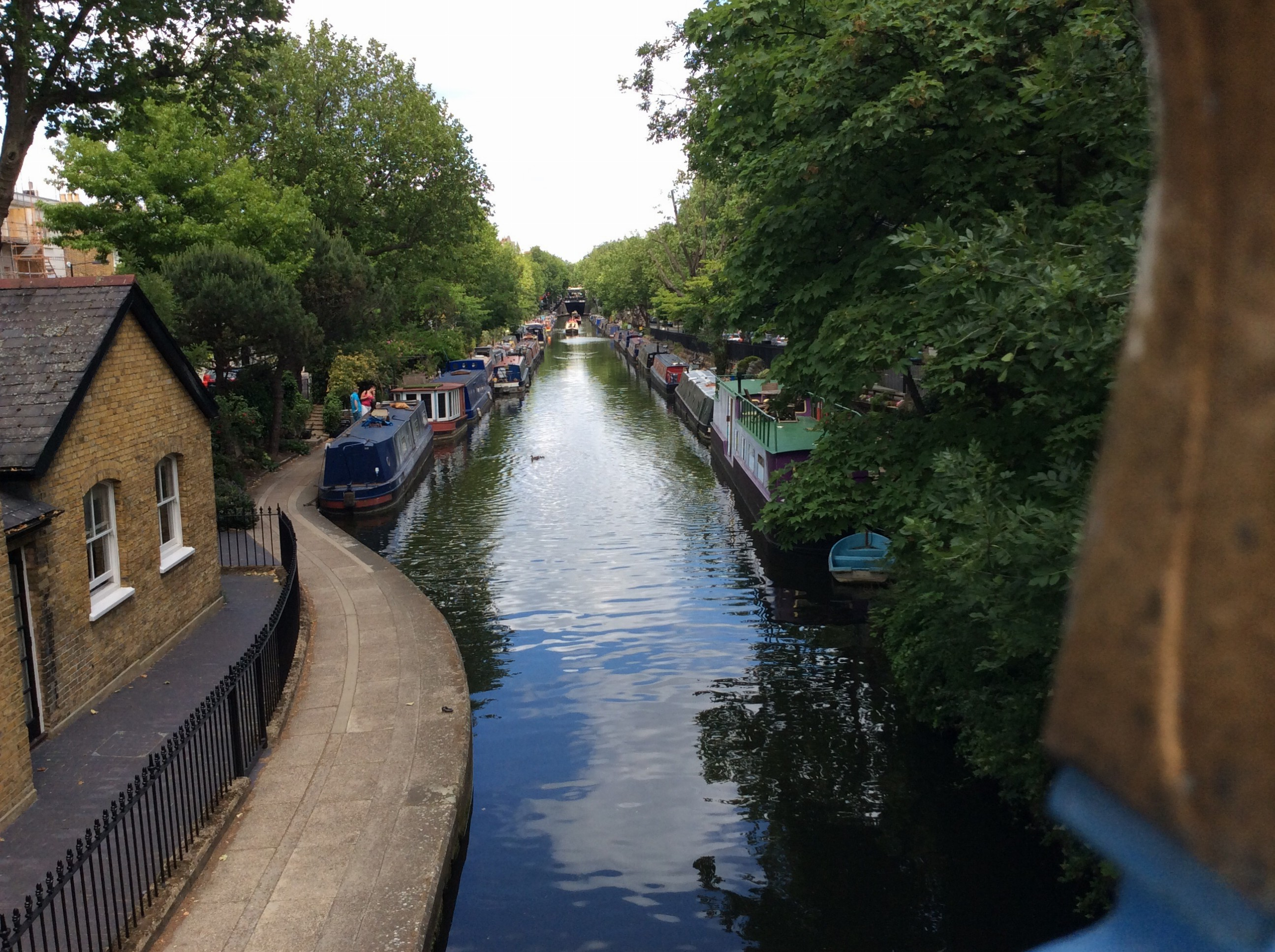 "Canal at end of our street. Thus the name ""little Venice"""