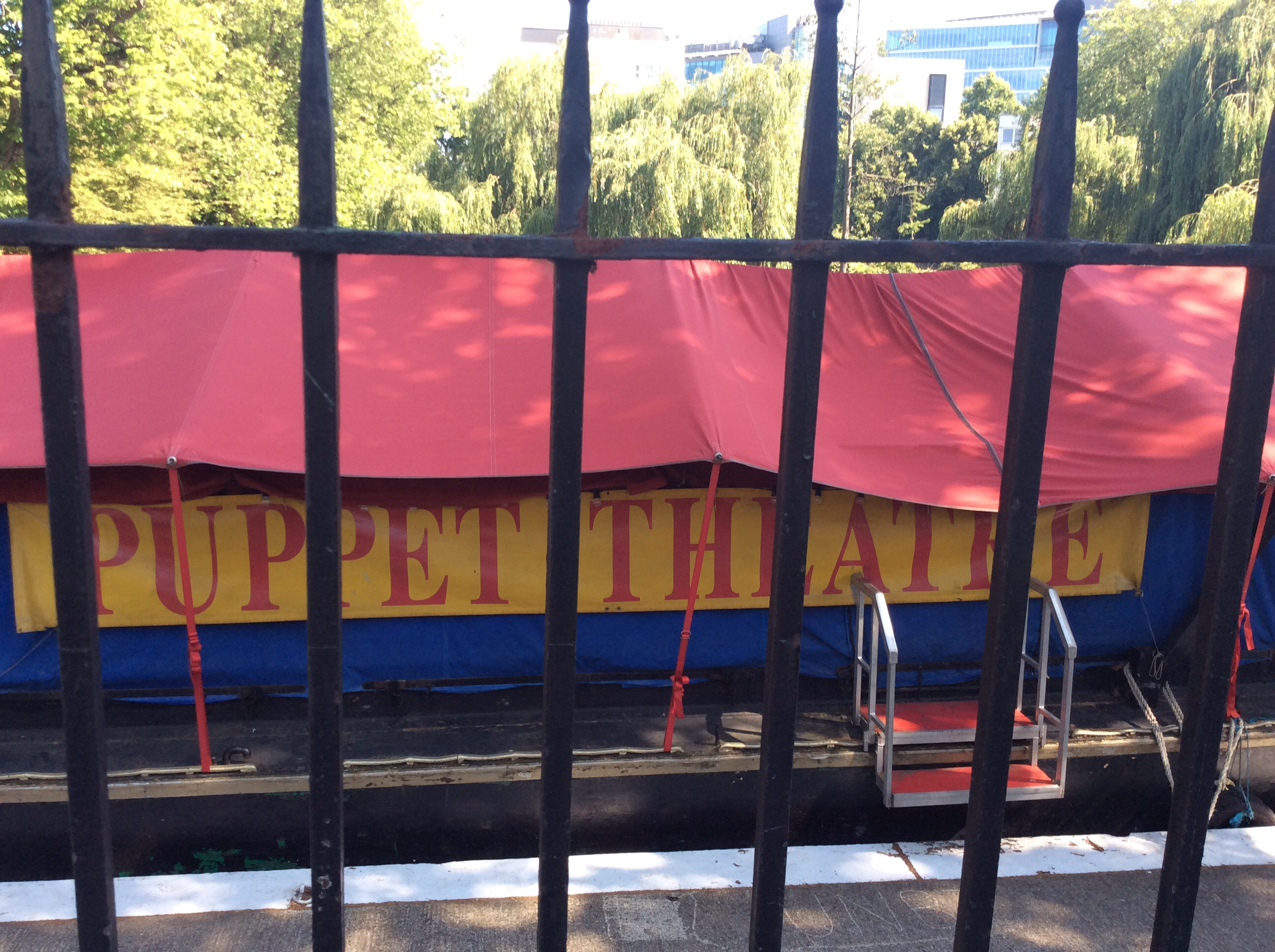 Puppet Theatre on canal