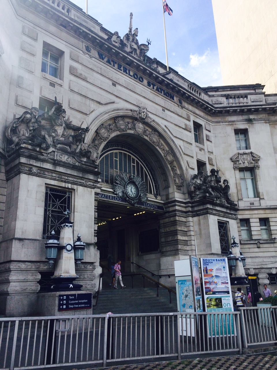 Waterloo Station…a song by the Kinks about, Waterloo Station!