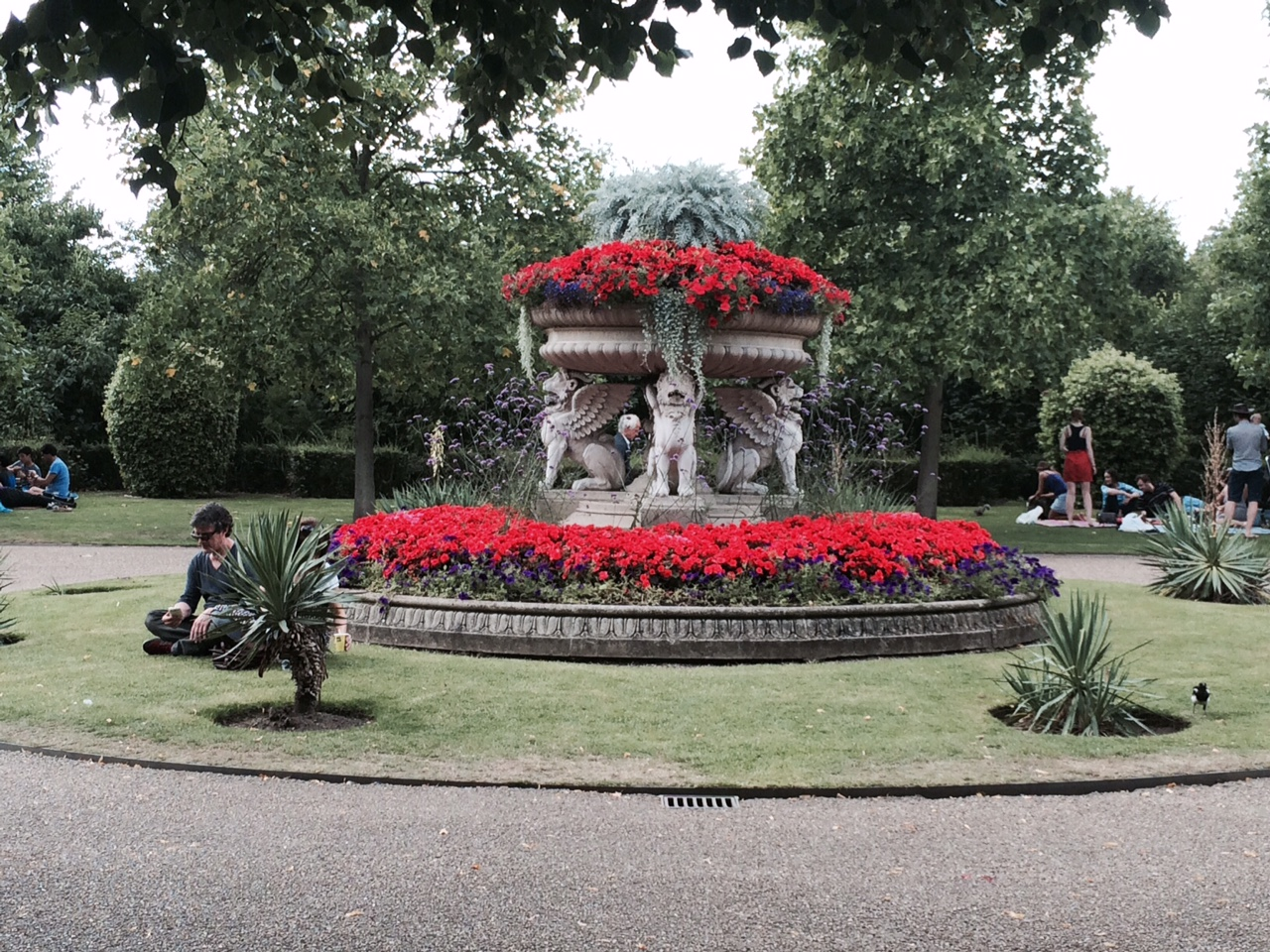 A day in the sublime Regent's Park.