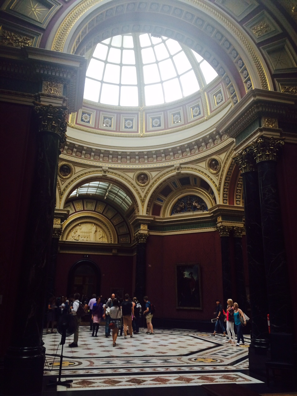 The National Gallery is gorgeous.  The architecture as thrilling as the art.
