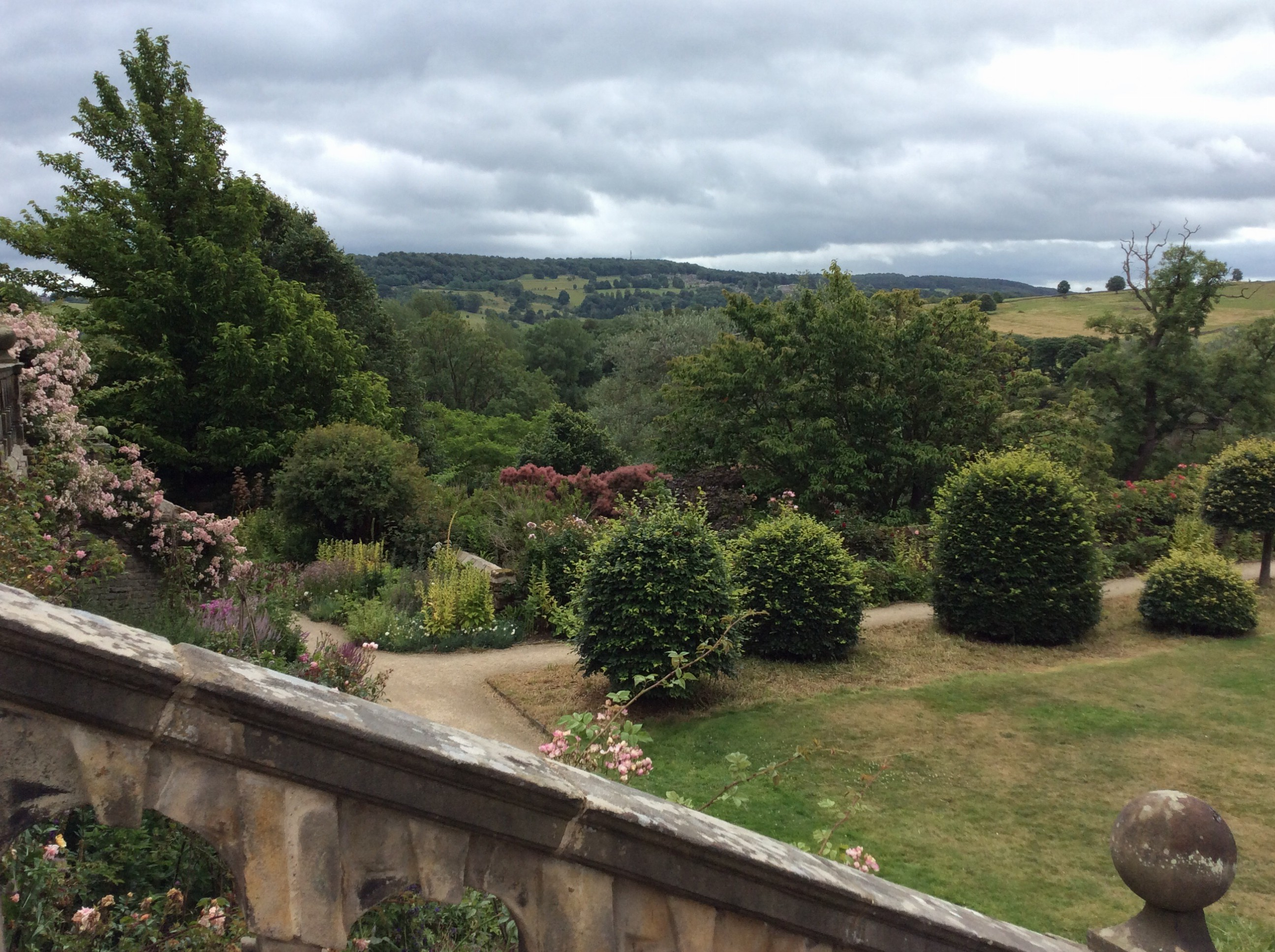 Views from Haddon House.