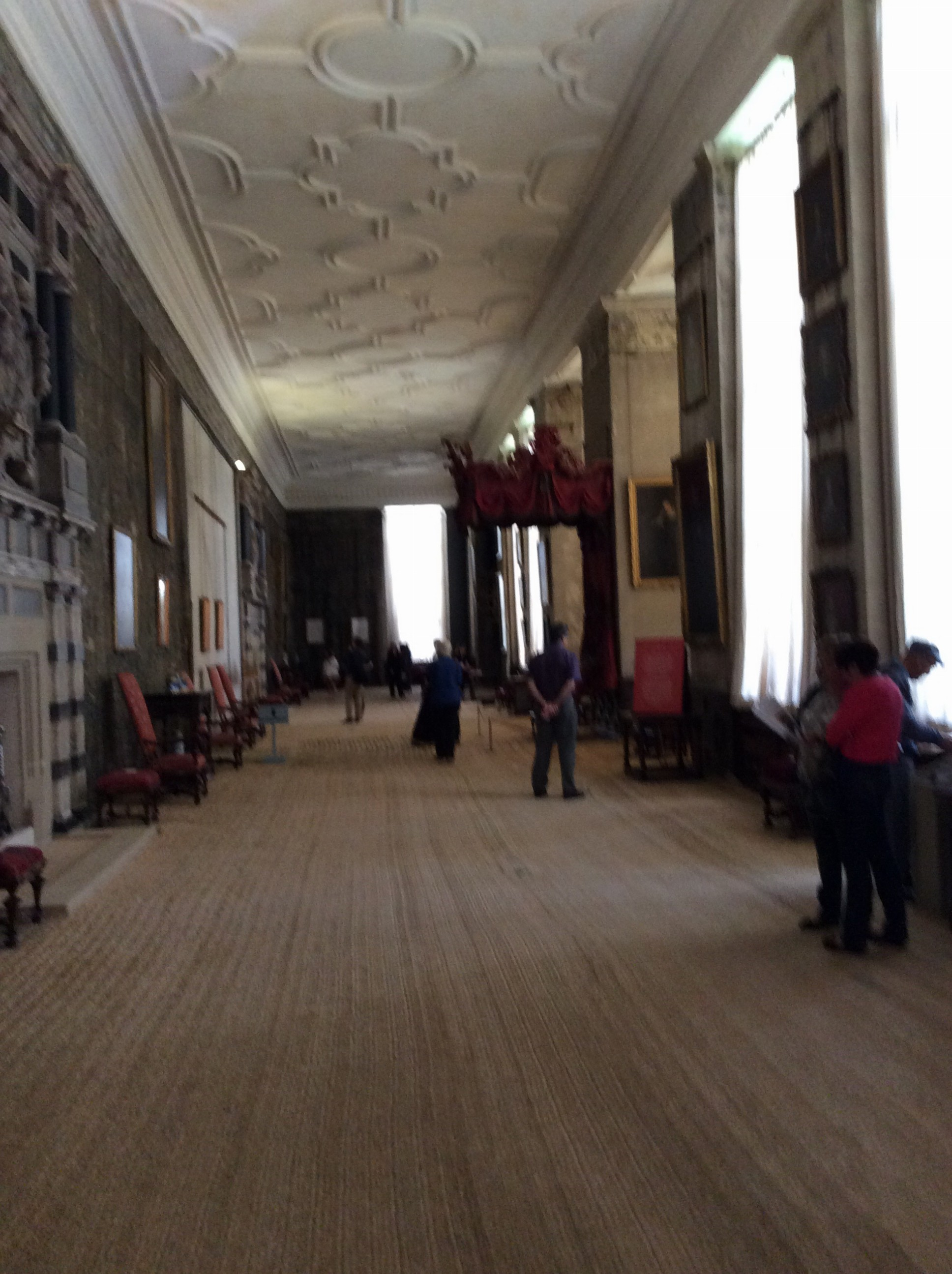 The Long Gallery.