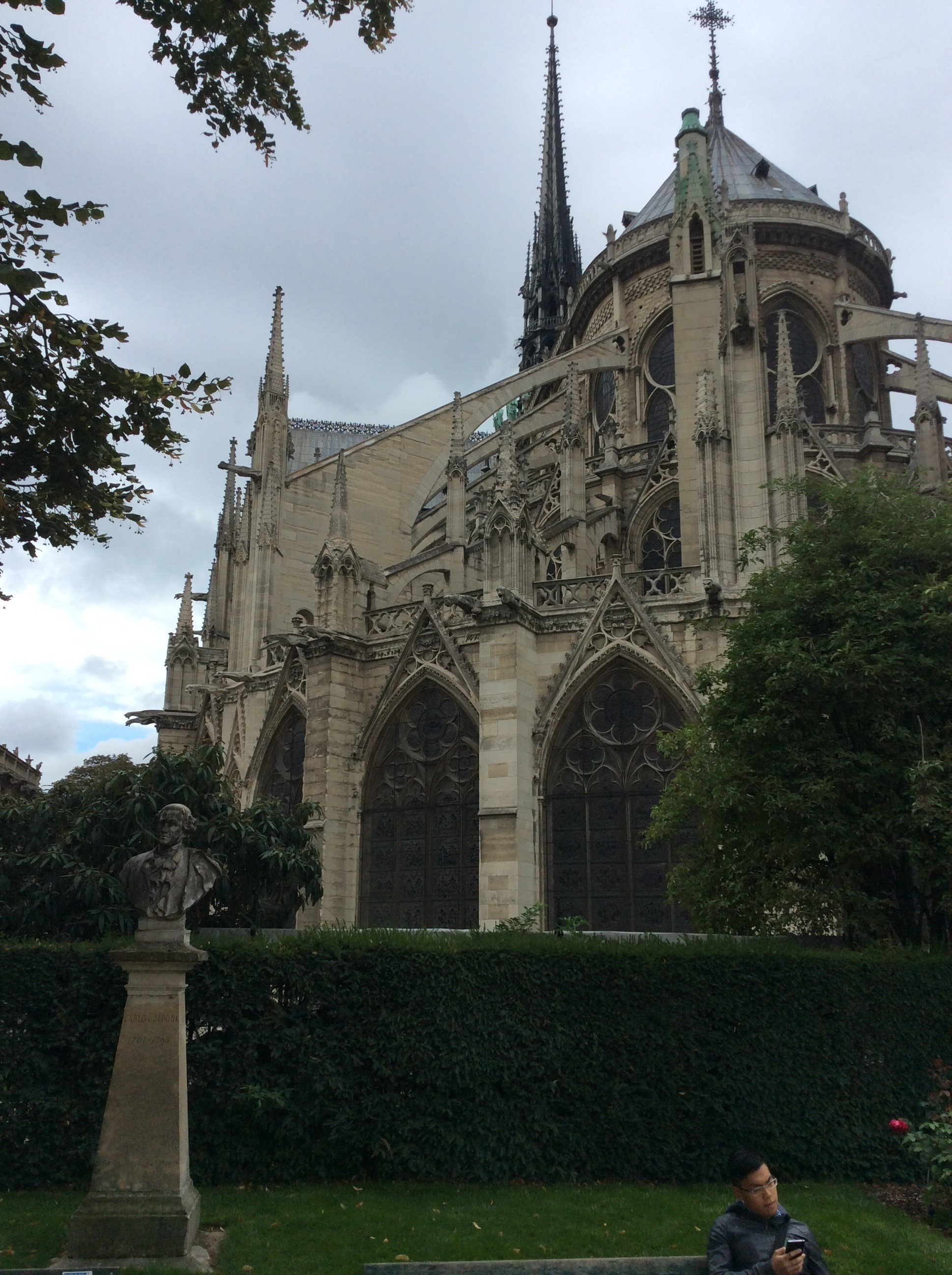 Another view of Notre Dame