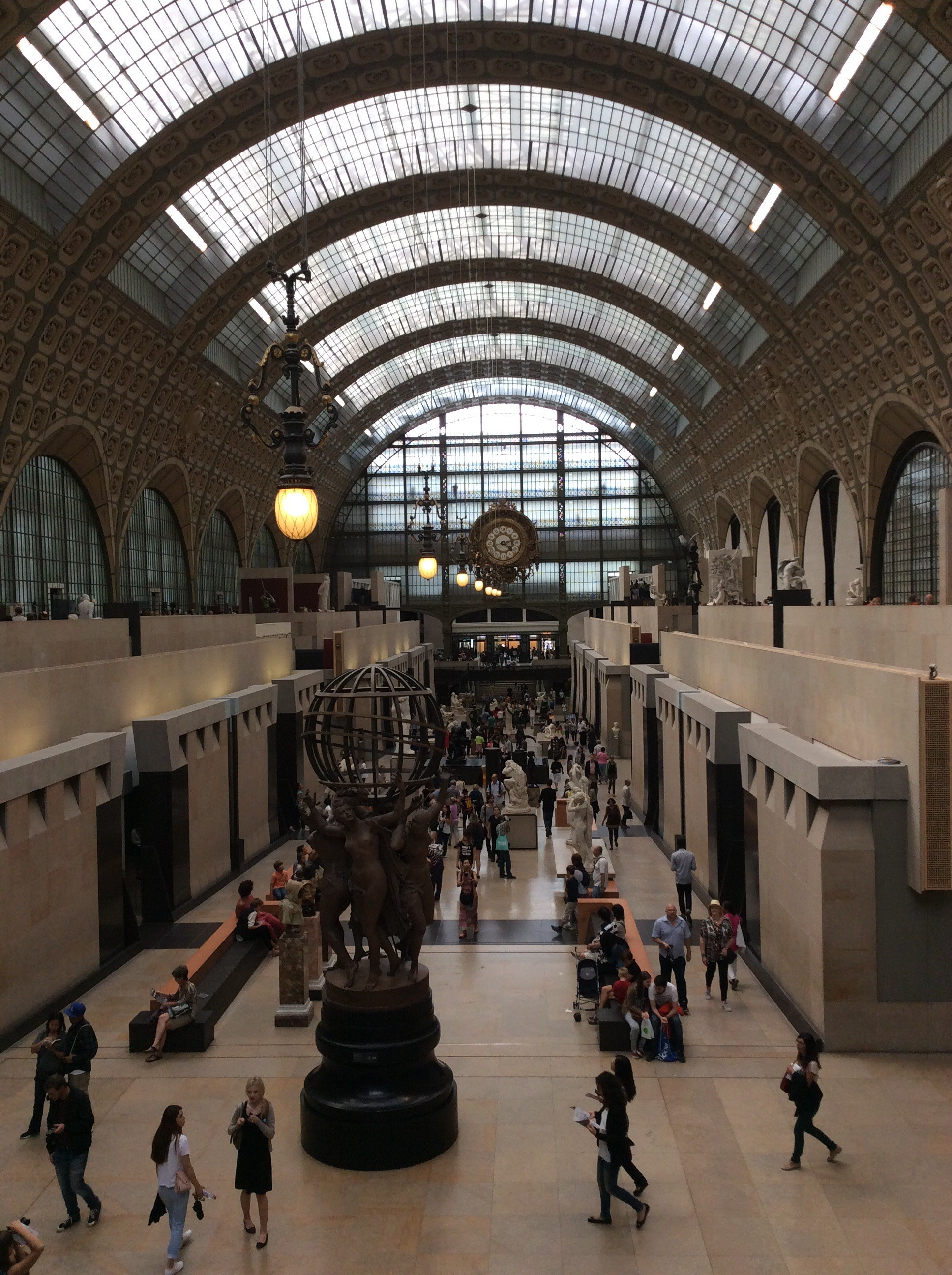 The spectacular Musee d'Orsay.